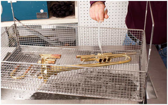 McBride Music Company—ULTRASONIC POWER cleaning system