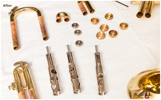 McBride Music Company—ULTRASONIC POWER cleaning system (After)